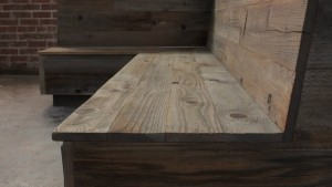 Reclaimed Redwood Banquet